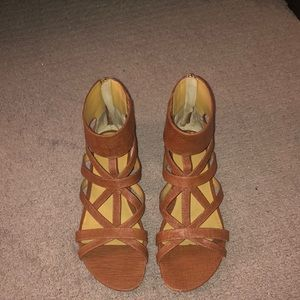 Barely Worn Gladiator Sandals from Nine West